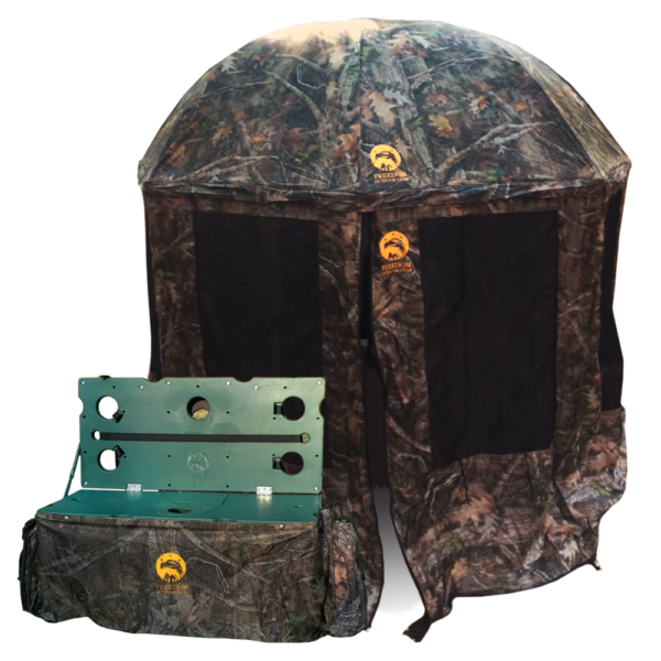 Hunting Blind & Shooting Bench